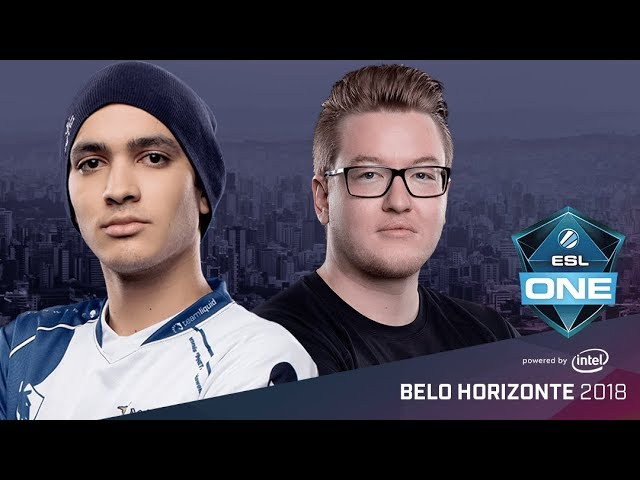 CS:GO - Team Liquid vs. FaZe [Dust2] Map 2 - Semifinal - ESL One Belo Horizonte 2018