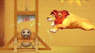 Lion Guillotine Shark Machines vs Funny Buddy | Kick The Buddy Gameplay Walkthrough #18