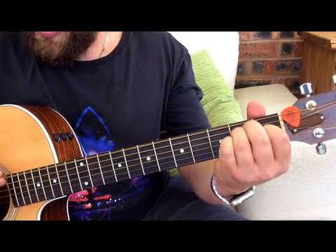 Beatles/Oasis-I Am The Walrus-Acoustic Guitar Lesson.