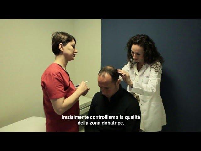 Trapianto Capelli Turchia - La visita pre-operatoria con la Dott.ssa Öykü ÇELEN / Skin Health Turkey