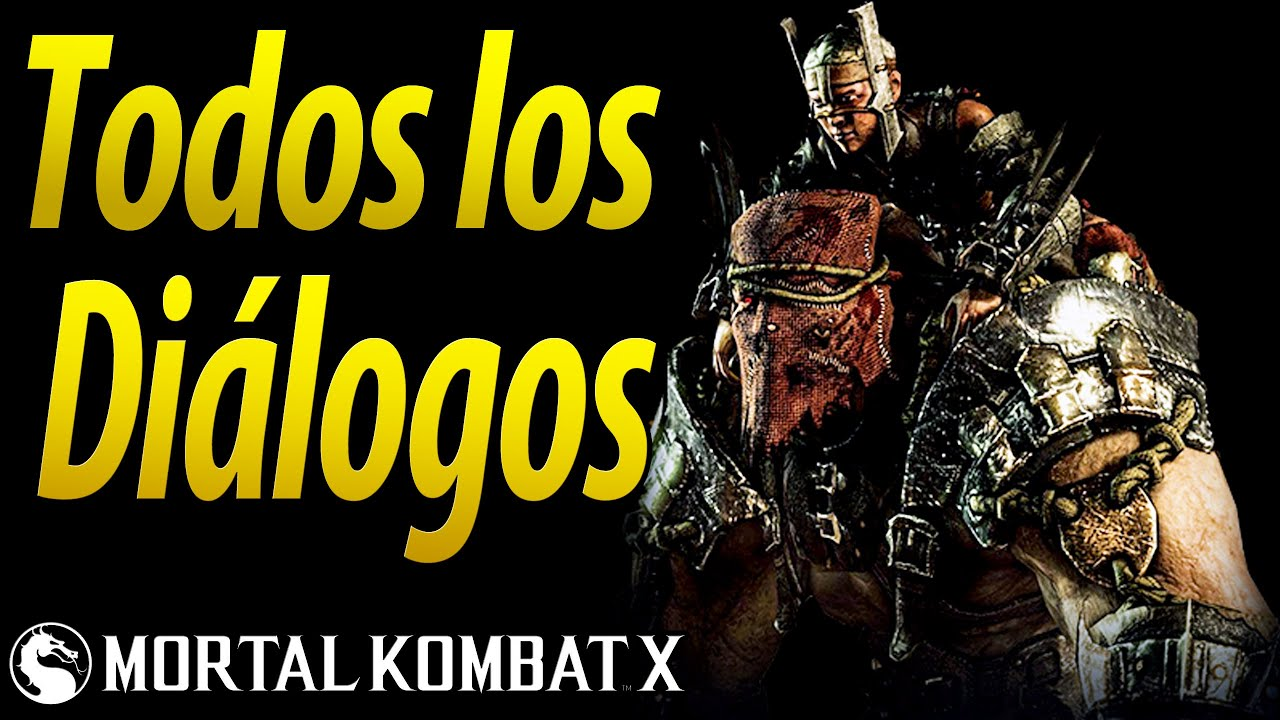Mortal Kombat X | Español Latino | Todos los Diálogos | Ferra/Torr | Xbox One |