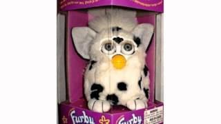 Furby Model 70-800 Dalmatian White With Black Spots Electronic Furbie (toy)