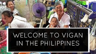 Welcome to Vigan in the Philippines