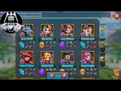 Hero Attributes - Lords Mobile