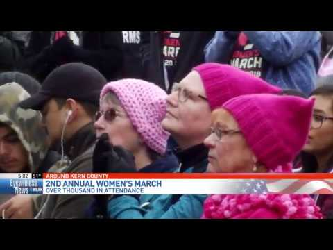 2nd Annual Women's March Kern County
