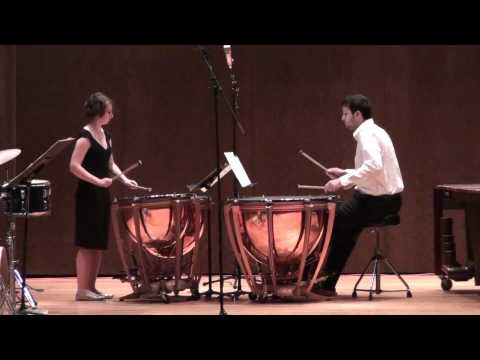 Three Pieces for Two Pairs of Timpani - 1. Fanfare...