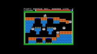 Bor-Fies / Bug-Eyes (1985) 128k AY music version Walkthrough + Review, ZX Spectrum