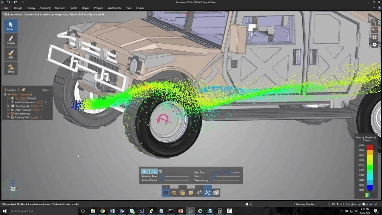 ANSYS 19 2 Is Released, with Faster CFD, Autonomous Vehicles and