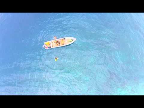 National Geographic Young Explorers - Drone footage of SCUBA survey