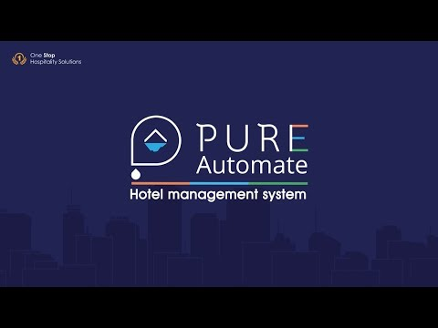 Pure Automate | Hotel Management System | Property Management System For Hotels