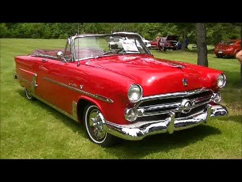 Ford Crestline Convertible (1952) - Picture Gallery - Motorbase