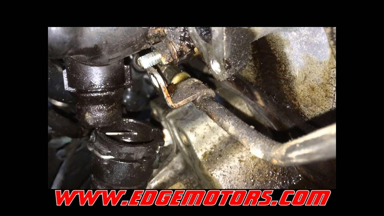 Audi a4 vw passat coolant temperature sensor housing replacement diy by edge motors youtube