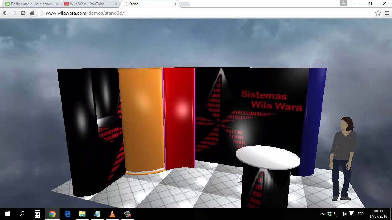 Exhibition Stand Design Tool : Demo d exhibition stand design tool youtube