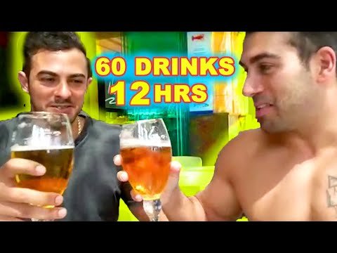 60 DRINKS IN 12 HOURS!!
