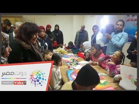 وزيرة الثقافة تفتتح أول ناد سينما أفريقية بالأقصر  - 19:54-2019 / 1 / 17