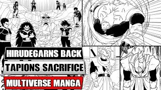 Dragon Ball Multiverse Chapters 29 And 30: Hirudegarn Vs Shadow Saiyans! Tapion's Final Battle!