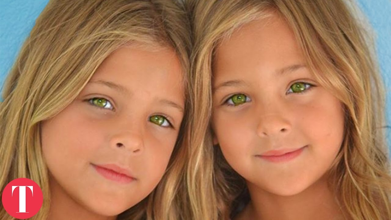The Most Beautiful Twins In The World - YouTube