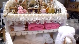Shabby Chic Ladies Miniature Dresser Unit, Part 3 - Jennings644