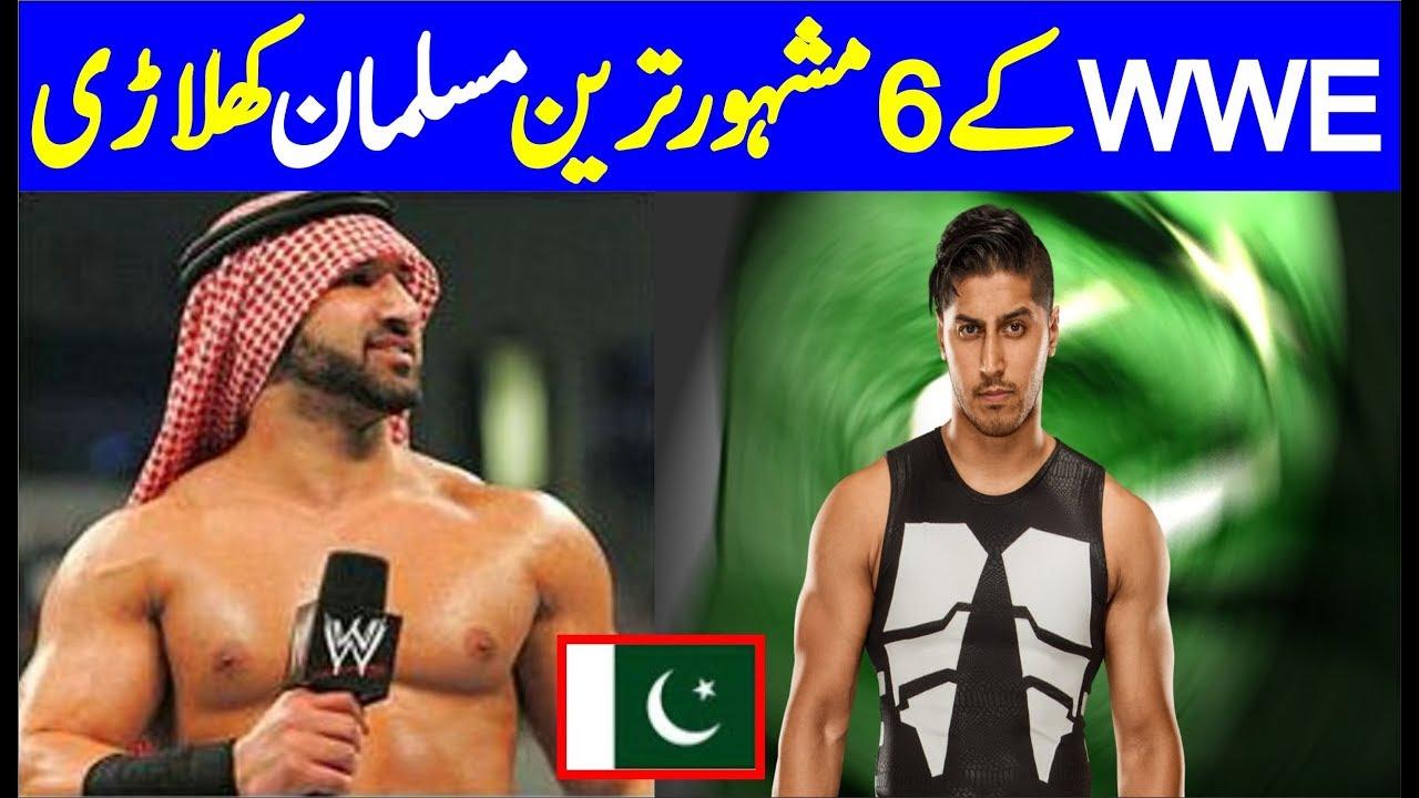 Mustafa Ali Pakistani Muslim Wrestlers In Top 6 Most Famous WWE Muslim Wrestlers