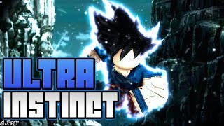 Unlocking Ultra Instinct in DBZ Final Stand! *NEW* | Roblox | DBZ Final Stand Tournament of Power