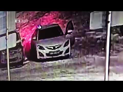 На ЖБИ угнали Mazda 6