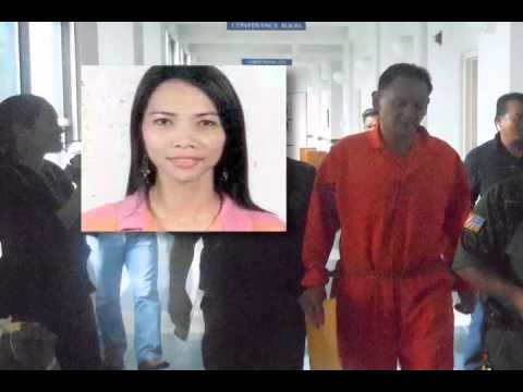 Accused Murderer Joseph A. Crisostomo Began Today in the CNMI Superior Court...