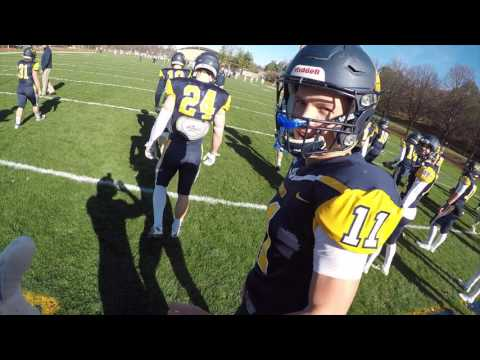 NCAA D3 College Football Gameday: A Player's Perspective!!! (GoPro HD) Carleton College