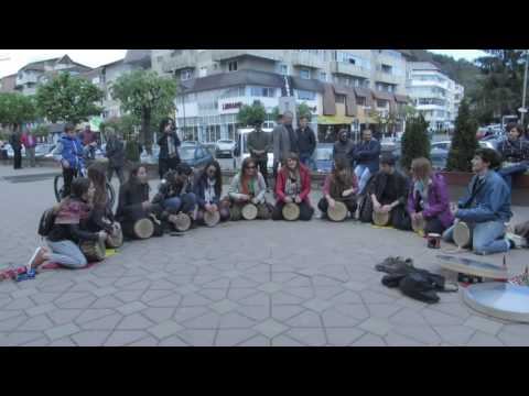 Drumming Sound Therapy 2016 - Performances by participants in the community