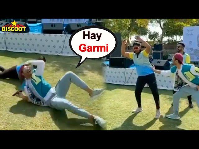 RaghavJuyal does NORA FATEHI's Garmi Dance HOOK STEP In Public😂😂😂😂