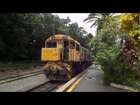 Queensland Rail Kuranda Scenic Railway Coupling up