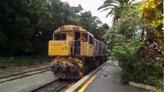 Queensland Rail Kuranda Scenic Railway Coupling up