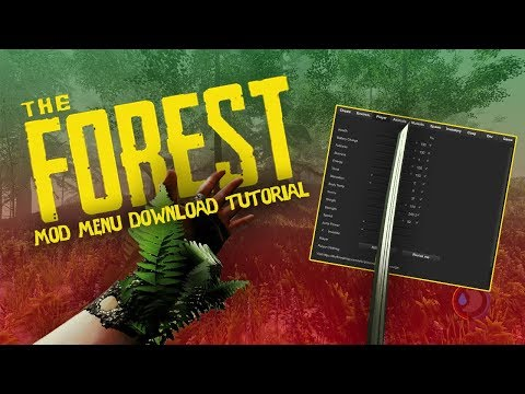 The Forest MOD MENU Download Tutorial JUNE/JULY *WORKING*