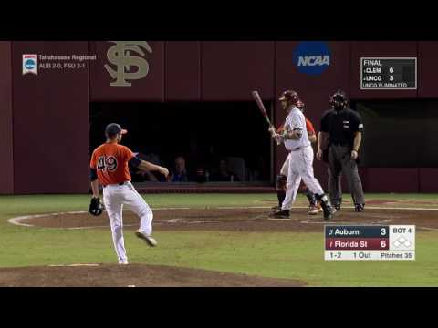 Auburn Baseball Vs Florida State Game 1 Highlights