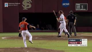 Auburn baseball vs Florida State game 1 highlights