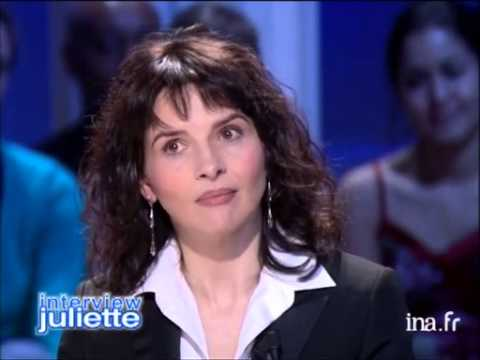 Interview Juliette de Juliette Binoche - Archive INA