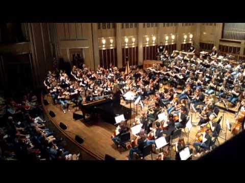 Ben Folds and Contemporary Youth Orchestra Improvised Piece