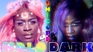 ♡HOLO 2 DARK UNICORN MAKEUP♡ thumbnail