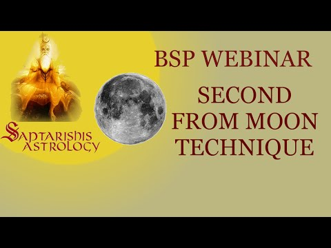BSP Webinar -  2nd from Moon Technique - 32nd year