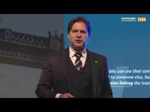 Dr. Craig Wright:How One World Blockchain Powers a New Future for Computing & Cloud System | CGLive