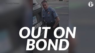 Former Minneapolis officer Derek Chauvin released on bond in George Floyd case