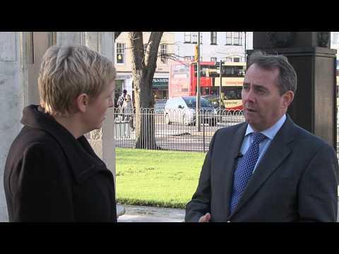 Charlotte Vere talks to Liam Fox MP