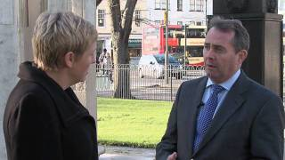 Charlotte Vere talks to Liam Fox MP