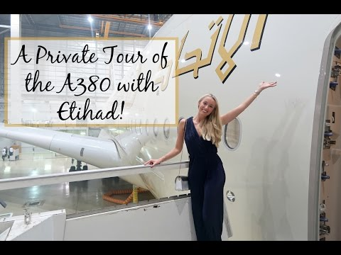 A Private Tour of the Etihad A380 - Including The Residence & First Class Cabins!