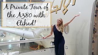 One of Fashion Mumblr's most viewed videos: A Private Tour of the Etihad A380 - Including The Residence & First Class Cabins!