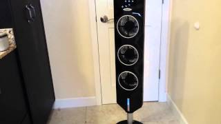 Ozeri 3x Tower Fan Passive Noise Reduction Technology #PostreviewonAmazonandblog