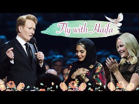 First Arab YouTuber at the Nobel Peace Prize Concert | اول يوتيوبر عربية في جائزة نوبل للسلام
