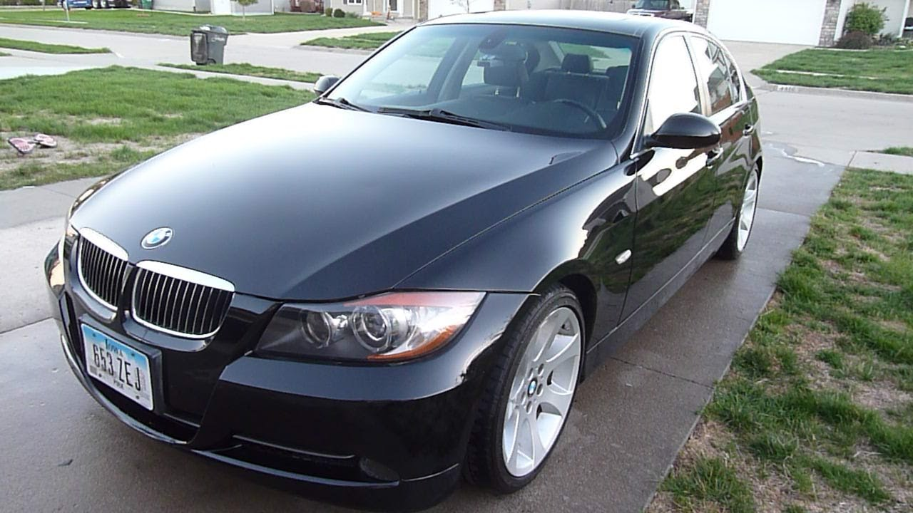 2006 BMW 330i 6 speed manual sport - YouTube