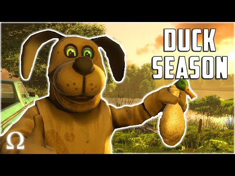 MOST TWISTED DUCK HUNT EVER! | Duck Season VR Full Playthrough Ending 1 / 7 (SUPER CREEPY)