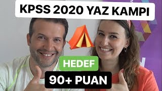 KPSS 2020 Yaz Kampı Başlıyor |  90 üstü puan almak için izle!  #kpss2020