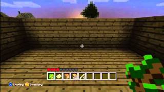 Minecraft Multiplayer Survival!!! XBOX 360 Edition- Part 1 First Night Shenanigans